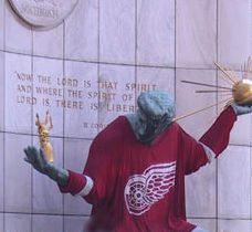 Red Wings win the Stanley             Cup.