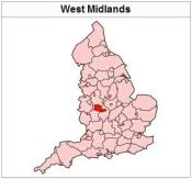 West Midlands in the             United Kingdom.